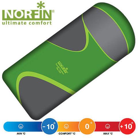 Спальник NORFIN Scandic Comfort Plus 350 Fishing (молния слева)
