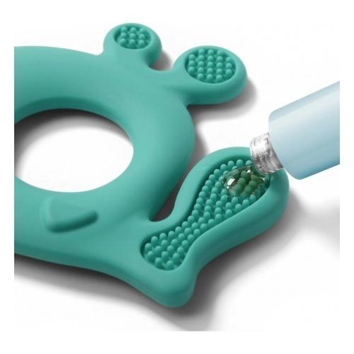 BabyOno - Силиконовый прорезыватель для зубов Китёнок PABLO (зеленый)