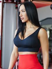 Мини-топ женский Lion gym ULTRACLASSIC BLACK