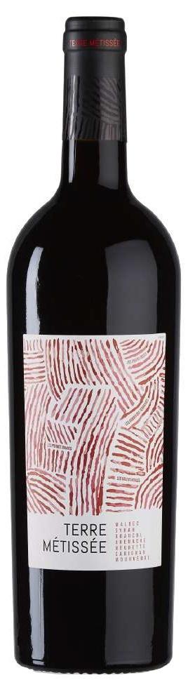 Вино Терре Метиссе сухое красное 0,75л.
