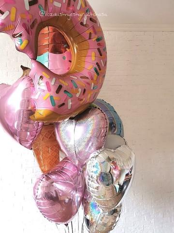 Воздушный шар пончик