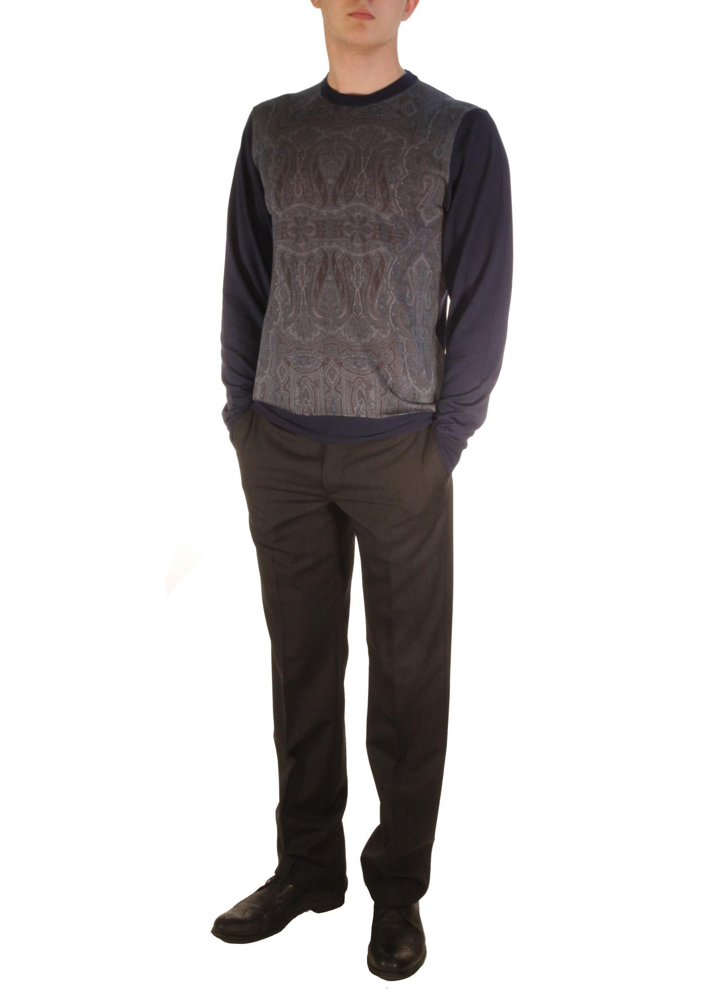 Джемпер из шерсти и шелка ETRO