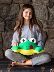 Мягкая игрушка-подушка Gekoko «Лягуха» 4