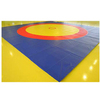 Ковер борцовский трехцветный 12х12м, наполнитель матов ППЭ+НПЭ 160кг/м3, толщина 4см