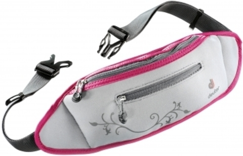 Картинка сумка для бега Deuter Neo Belt II silver-magenta - 1