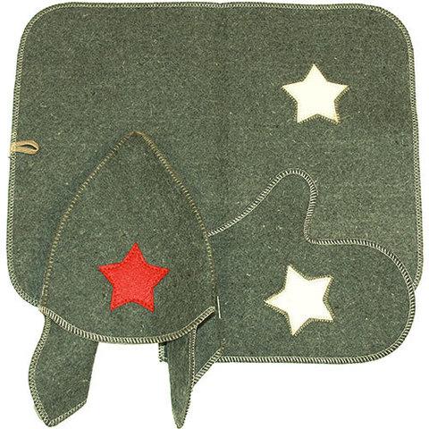 Комплект Буденовка (серый)