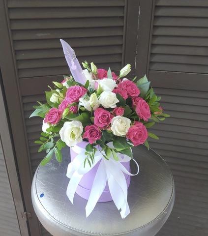 Цветы в  шляпной коробочке  #78698