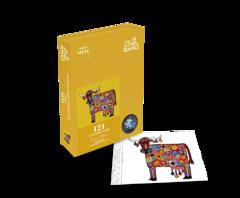 Пазл «Мини-набор Радужная корова»