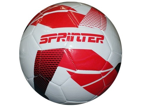 Мяч футбольный. Материал: ПВХ, резина. Машинная сшивка панелей. FT-SPR30 29150