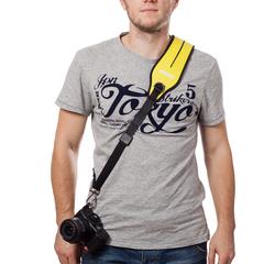 Плечевой ремень для фотокамеры Caden (Yellow)