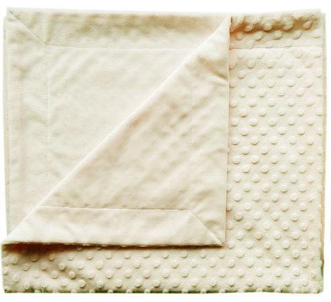Папитто. Плед двухслойный вельбоа рельефный 82х92 см