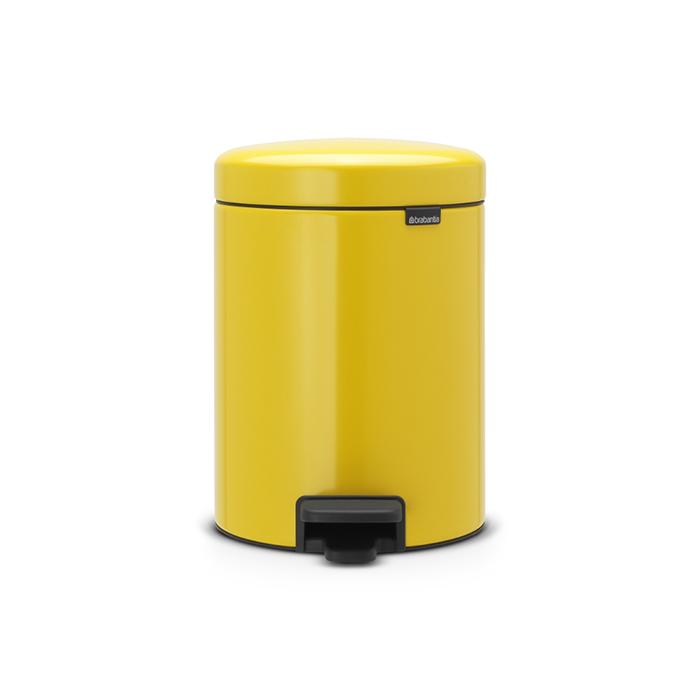 Мусорный бак newicon (5 л), Желтая маргаритка, арт. 112522 - фото 1