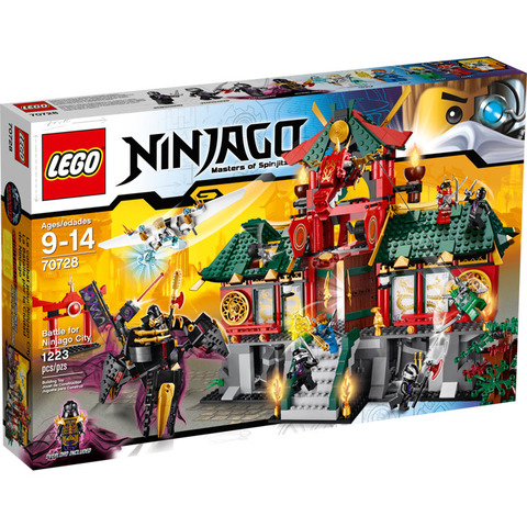 LEGO Ninjago: Битва за Ниндзяго Сити 70728 — Battle for Ninjago City — Лего Ниндзяго