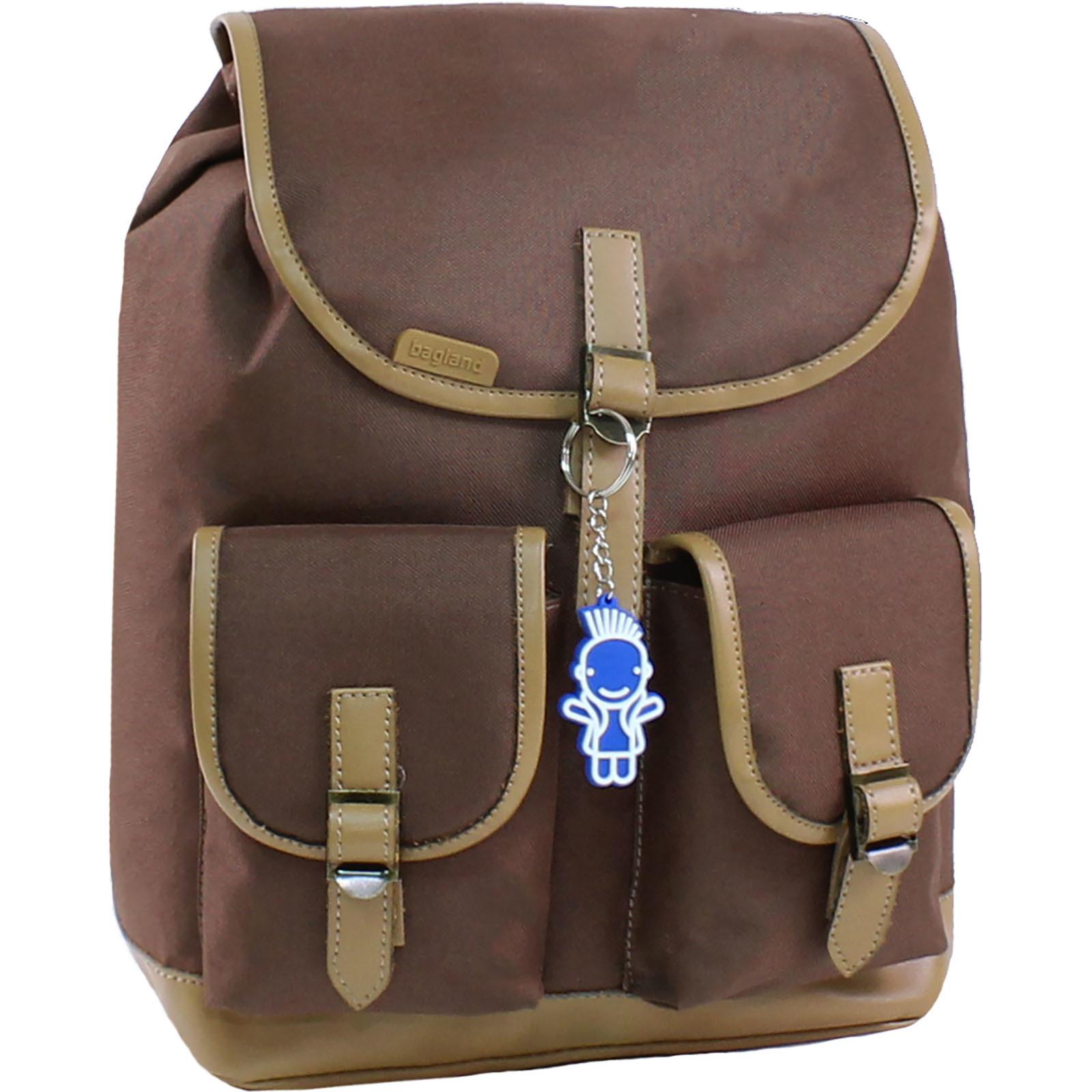 Рюкзак Bagland Amy 16 л. 299 коричневий (0013066) фото 1