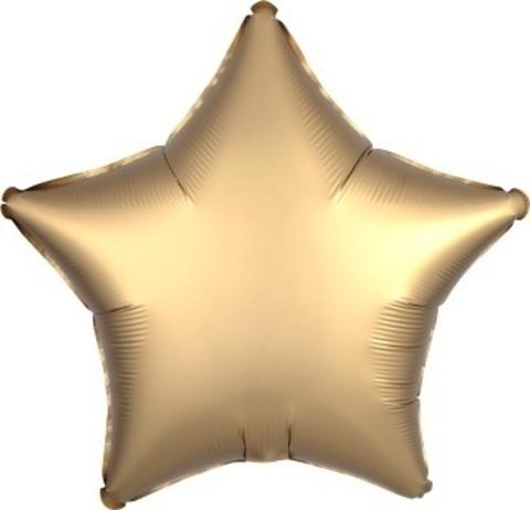 Звезда - золото сатин