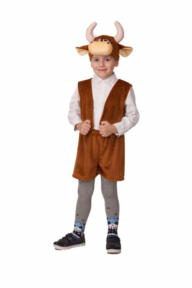 Костюм карнавальный детский бычок Рожок