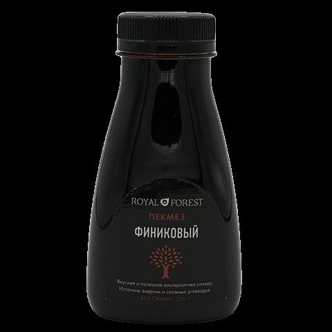 Пекмез финиковый без сахара ROYAL FOREST, 250 гр