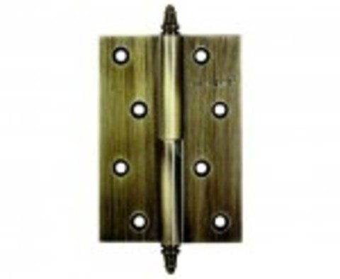 Петли АО10 - D 100х70х3 -2В/2H левая/правая цвета: бронза, белый никель