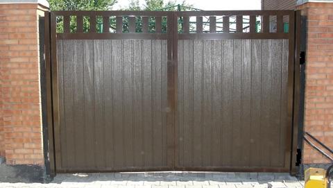 Распашные ворота АDS400 (Беларусь)