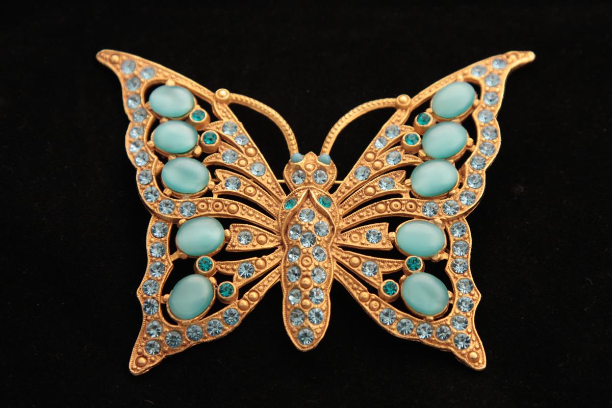 Эффектная брошь «Бабочка» от Askew London