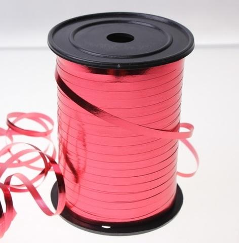 Лента металл на бобине Россия (размер: 5мм х 250ярдов) Цвет:красная