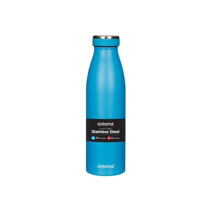 "Термобутылка Sistema ""Hydrate"" 500 мл, цвет Синий"