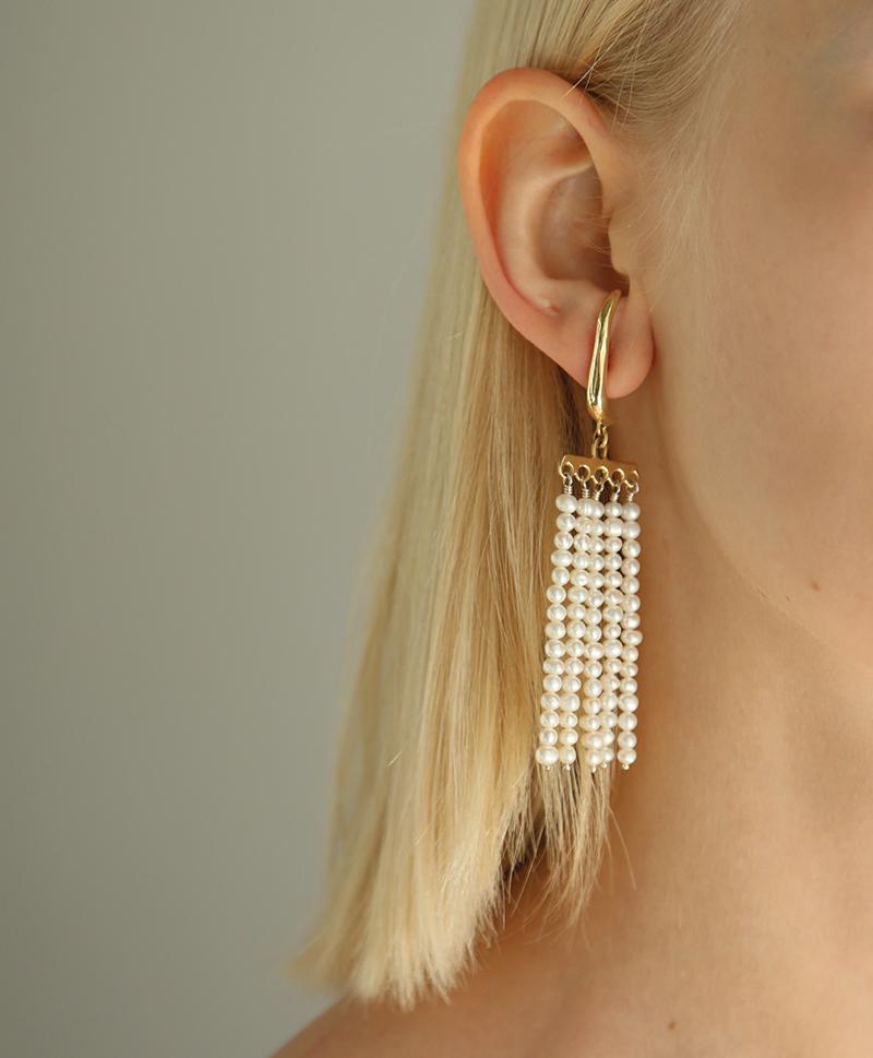 Серьги SWING Earrings Bronze
