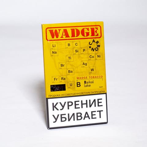 Табак WADGE CARBON 100gr BAIKAL LAKE