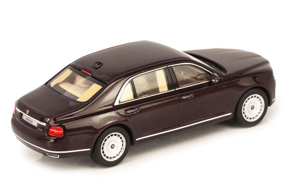 Коллекционная модель AURUS SENAT S600 2019 DARK RED