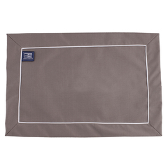 PLACEMAT SET BROWN WATERPROOF