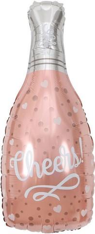 Фольгированный шар Шампанское Cheers
