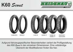 купить Мотошины Heidenau K60 Scout