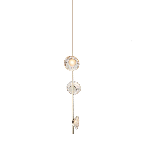 Потолочный светильник копия Ceto by Ross Gardam вертикальный (золотой)