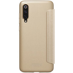 Чехол-книжка Nillkin Sparkle для Xiaomi Mi9 (Золотой)