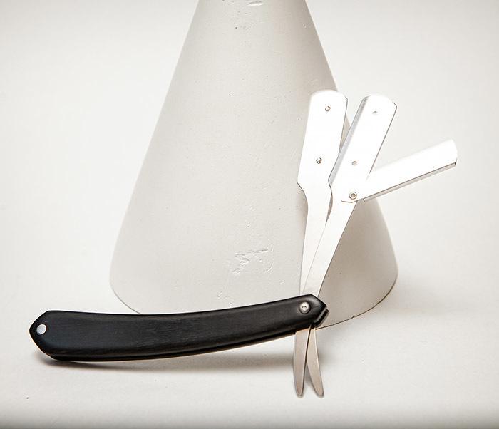 RAZ526-1 Шаветка с ручкой из дерева черного цвета фото 05