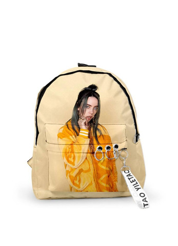 "Рюкзак ""Billie Eilish"" бежевый"