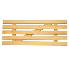 Решетка для ванны деревянная