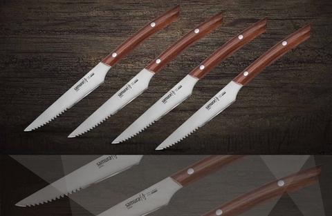 Набор стейковых ножей SAMURA SSK-004