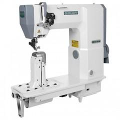 Фото: Промышленная швейная колонковая швейная машина Siruba R718K-02H