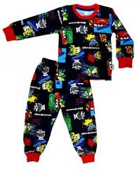 Пижама детская легкая Тачки
