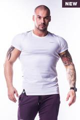 Мужская футболка Nebbia Muscle Back 728 white