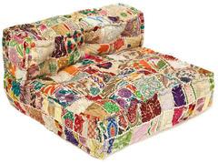Модуль мягкий со спинкой Secret De Maison FANCY (mod. MA-101) cotton patchwork, этнический Patchwork