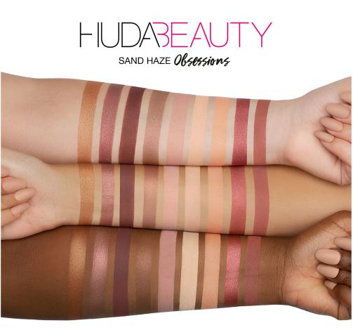 HUDA BEAUTY Obsessions Haze Sand палетка теней