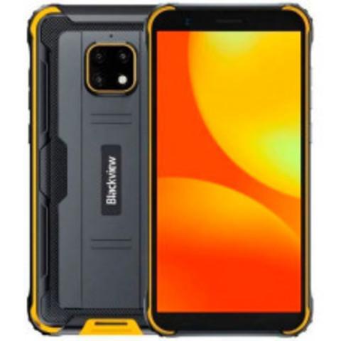 Смартфон Blackview BV4900, черный/желтый