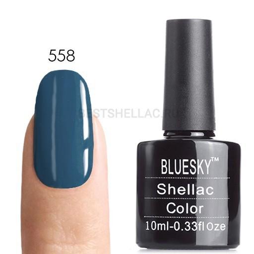 Bluesky Shellac 40501/80501 Гель-лак Bluesky № 40558/80558 Blue Rapture, 10 мл 558__2_.jpg