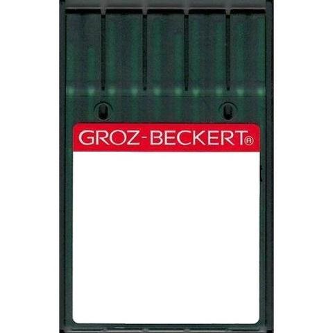 Groz Beckert 134LR  №100 GEB  иглы для кожи с правой заточкой для  швейных машин челночного стежка | Soliy.com.ua