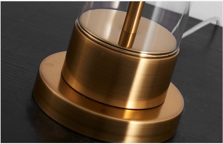 Настольная лампа Cylindrical Column Crystal Table Lamp