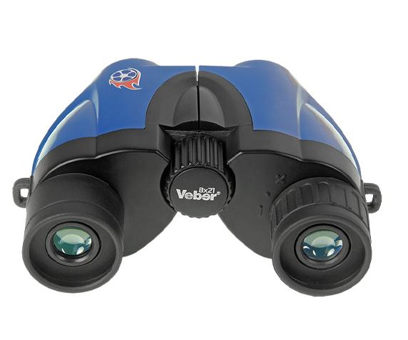 Бинокль Veber 8х21 (Топаз) - просветленное покрытие оптики
