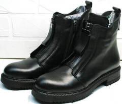 Осенние ботинки для женщин Tina Shoes 292-01 Black.
