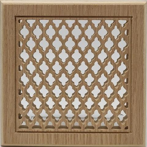 Решетка декоративная деревянная на магнитах Пересвет К-03 150х150мм